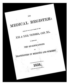 medical register